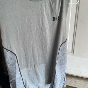 Under armor fitted tank top